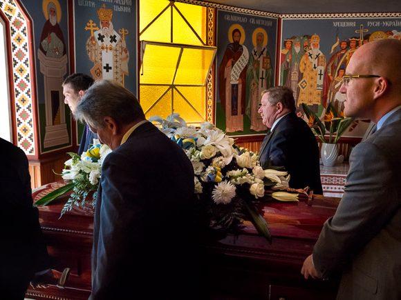 A Ukranian funeral, Melbourne.